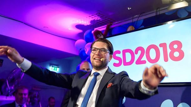 Warum Rechtspopulisten in Stockholm bald mehr Macht haben