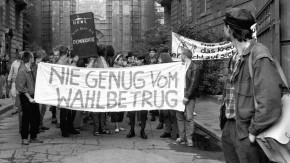 Historisches E-Paper: 31. Oktober 1989 - In der DDR ist die Sprache jetzt eine Waffe