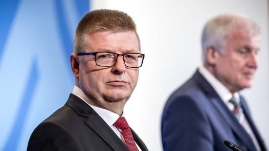 Thomas Haldenwang neuer Leiter des Verfassungsschutzes