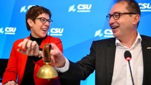 Auch die Union will eine Halbzeitbilanz im Herbst