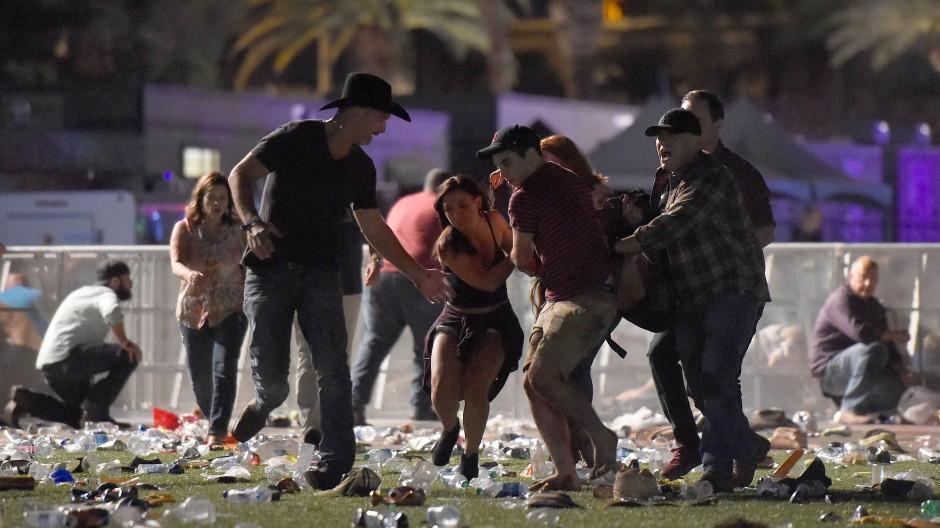 Las Vegas: Schütze tötet mindestens 50 Besucher eines Musikfestivals
