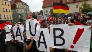 Merkels dunkles Deutschland