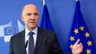 EU-Währungskommissar Pierre Moscovici.