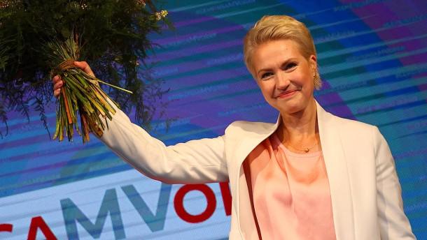 Klarer Sieg für Schwesig in Mecklenburg-Vorpommern