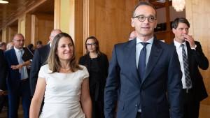 Maas plant Allianz der liberalen Demokratien