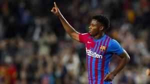 Ansu Fati lässt Barça aufatmen