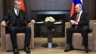 Schwarzmeeranrainer: Erdogan und Putin am Mittwoch in dem russischen Badeort Sotschi
