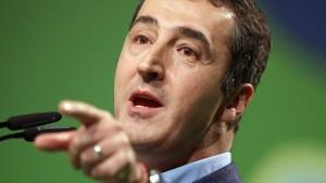 Özdemir nennt Syrien-Abstimmung einen Skandal