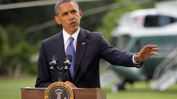 Obama arbeitet an Plan für die Irak-Krise