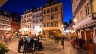 Mit Touristen leben: Bei Besuchern kommt die Altstadt gut an, aber bewährt sie sich auch für die Bewohner?