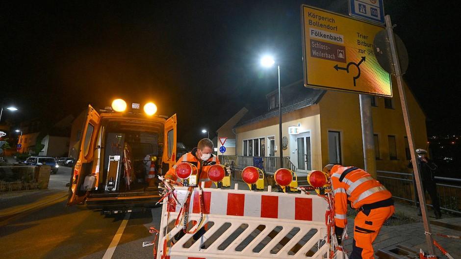 Echternacherbrück, Rheinland-Pfalz: Die Grenze zu Luxemburg wird wieder geöffnet, nachdem sie im Mai geschlossen war. Dass es nun zu einer abermaligen Schließung kommt, ist nicht wahrscheinlich.