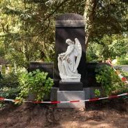 Erhaltenswürdig: Historische Gräber, wie dieses auf dem Hauptfriedhof, sind Teil der deutschen Friedhofskultur