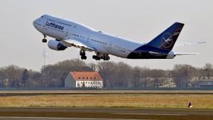 Lufthansa meldet zweithöchsten Gewinn in der Geschichte