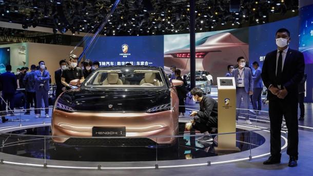 Wie chinesische E-Autos deutschen Herstellern Konkurrenz machen
