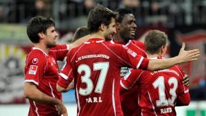 Kaiserslautern gewinnt dank Joker-Tor