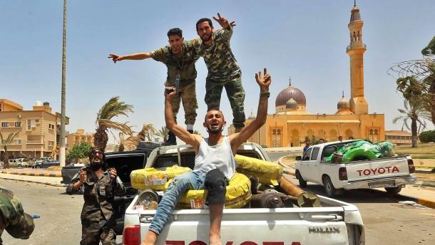 Haftar bietet Waffenstillstand an