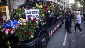 """Barcelona trotzt dem Terror: """"Ich habe keine Angst"""""""