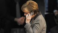 Ermittler finden angeblich keine Beweise für Lauschangriff auf Merkel-Handy