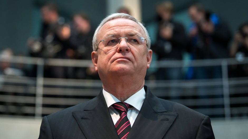 Martin Winterkorn, ehemaliger Vorstandsvorsitzender von Volkswagen im Jahr 2017