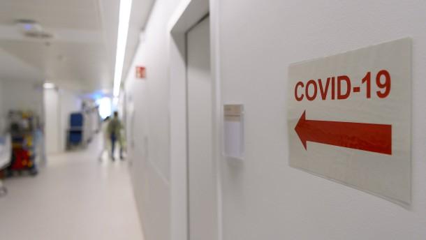 Wie Hessen die Zahl der Covid-Patienten vorhersagen kann