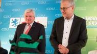 Neuauflage beschlossen: Die schwarz-grüne Regierung in Hessen steht.