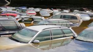 Acht Milliarden Euro zur  Beseitigung von Hochwasserschäden