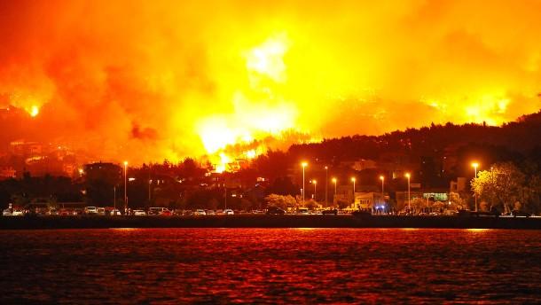 Waldbrände toben in Südeuropa