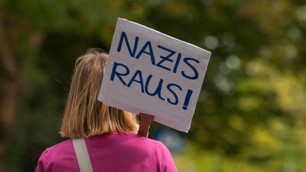 Neonazi-Demo in Göppingen