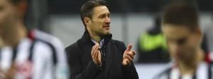 Erfolg macht gute Laune: Trainer Niko Kovac hat in Frankfurt viel bewegt