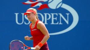 Fünf Deutsche in dritter Runde der US Open