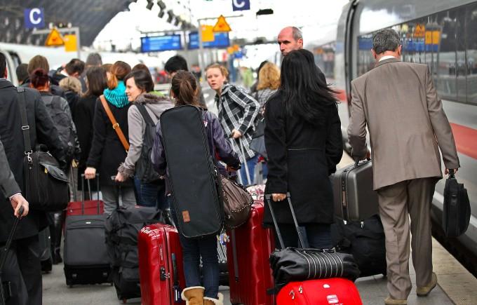 Hauptbahnhof Köln: Keine Zeit verlieren, schnell zur Arbeit! (Archivbild)
