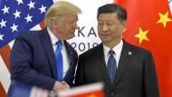 Das Verhältnis zwischen Donald Trump und Chinas Präsident Xi Jinping ist belastet. Vom Handelsstreit zwischen Amerika und China profitieren Dritte.