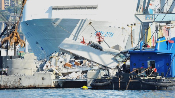 Three dead, six missing in harbour accident in Italy