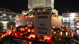 Gedenken in Hanau