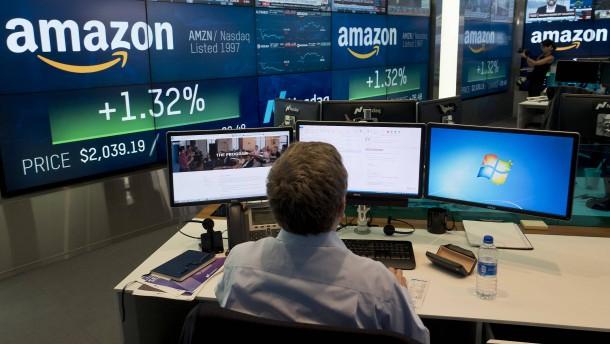 Amazon und Google verdienen Milliarden – Anleger sind enttäuscht