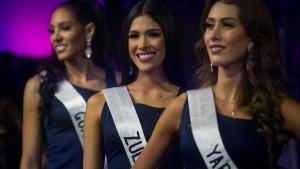 Miss-Wahl in Venezuela ohne angegebene Modelmaße