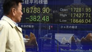 Asiens Finanzmärkte im Trump-Schock