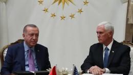Schlechte Laune in Ankara