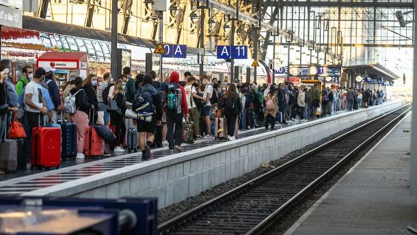 Bahn-Streiks haben begonnen