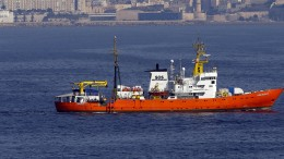 """""""Aquarius"""" will Flüchtlinge nicht nach Libyen bringen"""