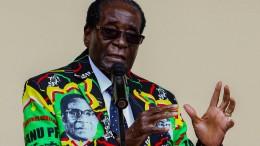 Zimbabwes Staatschef Mugabe steht unter Hausarrest