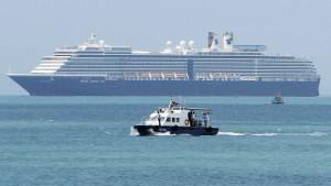 Kreuzfahrtpassagiere dürfen von Bord