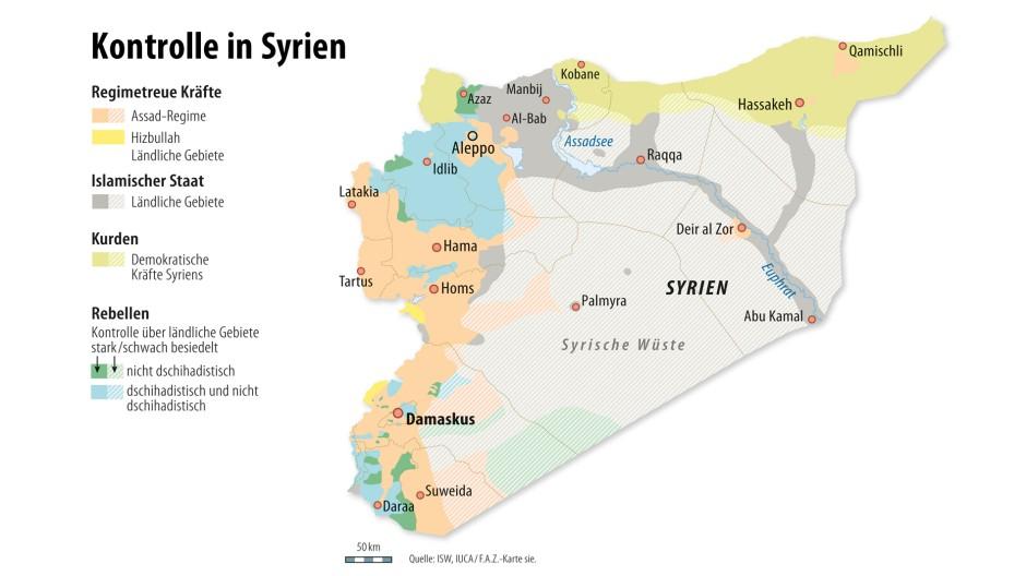 Syrien Karte 2016.Bilderstrecke Zu Syrien Rebellengruppen Stimmten Waffenruhe Zu