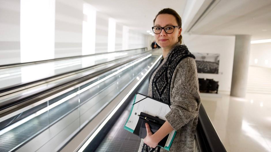 Sitzt für die SPD im Bundestag: Michelle Müntefering