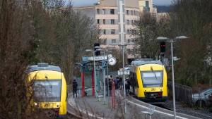 Zweigleisig nach Königstein