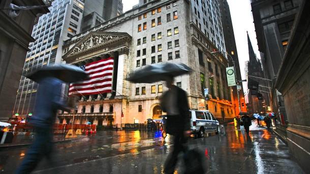 An der Wall Street blinken Warnsignale