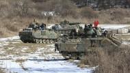 Die gemeinsamen Militärmanöver von Amerika und Südkorea dienten zur Abschreckung des kommunistischen Nordens.