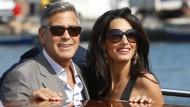 Venedig fiebert Hochzeit von George Clooney entgegen