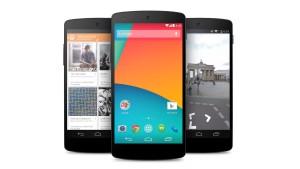 Google präsentiert das Nexus 5