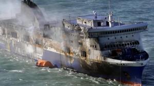 Weitere Todesopfer der Norman Atlantic befürchtet